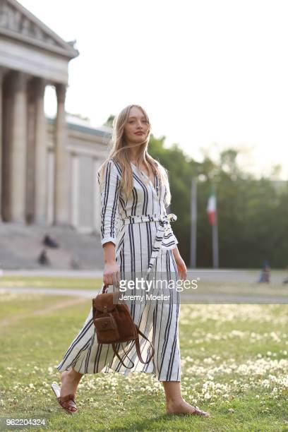Leonie Alma wearing a Gucci bag on May 02 2018 in Munich Germany