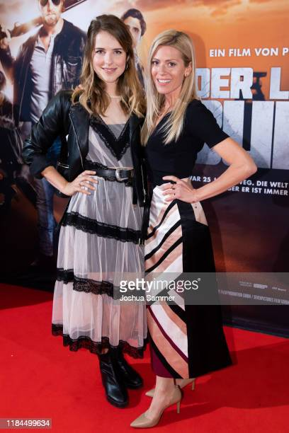 Leonie Brill and Nele Kiper at the Film Premiere of Der letzte Bulle at Lichtburg on October 30 2019 in Essen Germany