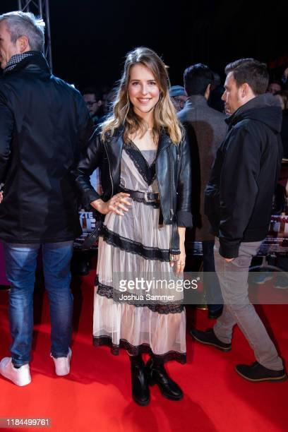 Leonie Brill at the Film Premiere of Der letzte Bulle at Lichtburg on October 30 2019 in Essen Germany