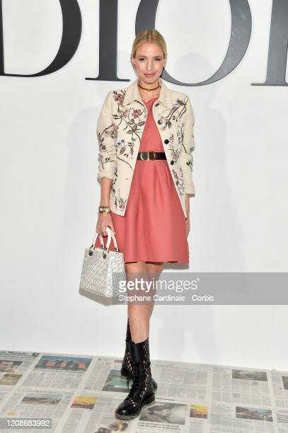 Leonie Hanne attends the Dior show as part of the Paris Fashion Week Womenswear Fall/Winter 2020/2021 on February 25, 2020 in Paris, France.