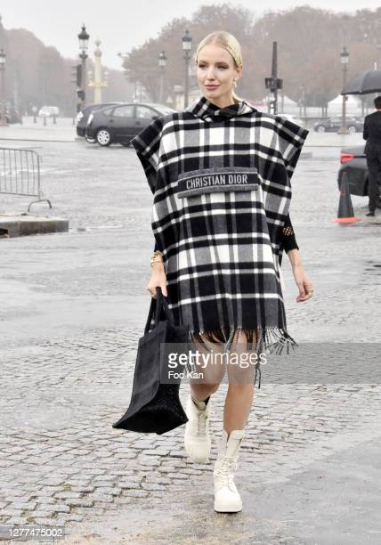 Leonie Hanne attends the Dior Womenswear Spring/Summer 2021show as part of Paris Fashion Week on September 29, 2020 in Paris, France.