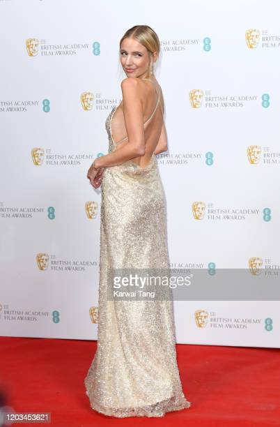 Leonie Hanne attends the EE British Academy Film Awards 2020 Nominees' Party at Kensington Palace on February 01 2020 in London England
