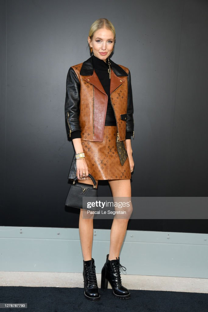 Louis Vuitton : Photocall -  Paris Fashion Week - Womenswear Spring Summer 2021 : ニュース写真