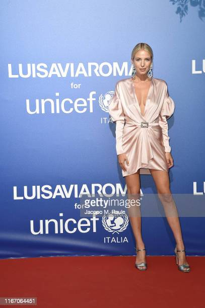 Leonie Hanne attends the photocall at the Unicef Summer Gala Presented by Luisaviaroma at on August 09, 2019 in Porto Cervo, Italy.