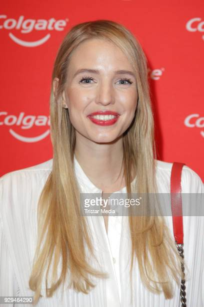 Leonie Hanne during the Colgate White Night at Apartimentum on March 8 2018 in Hamburg Germany