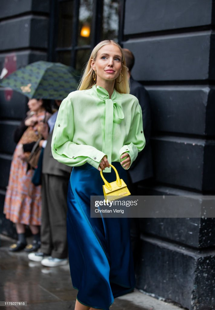 Street Style - LFW September 2019 : Photo d'actualité