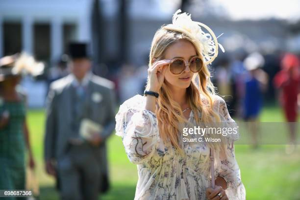 Leonie Hanne on day 1 of Royal Ascot at Ascot Racecourse on June 20 2017 in Ascot England