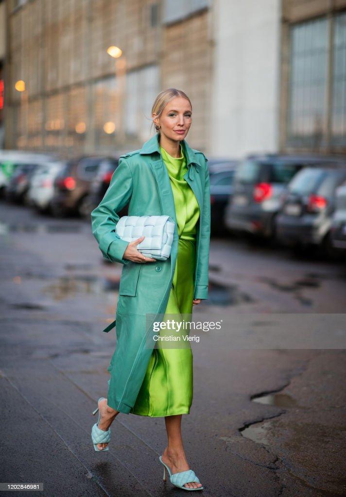 Street Style - Day 2 - Copenhagen Fashion Week Autumn/Winter 2020 : Photo d'actualité