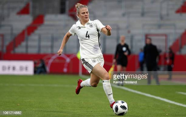 Leonie Maier of Germany during the Germany Women v Spain Women International Friendly at Arena Erfurt on November 13 2018 in Erfurt Germany