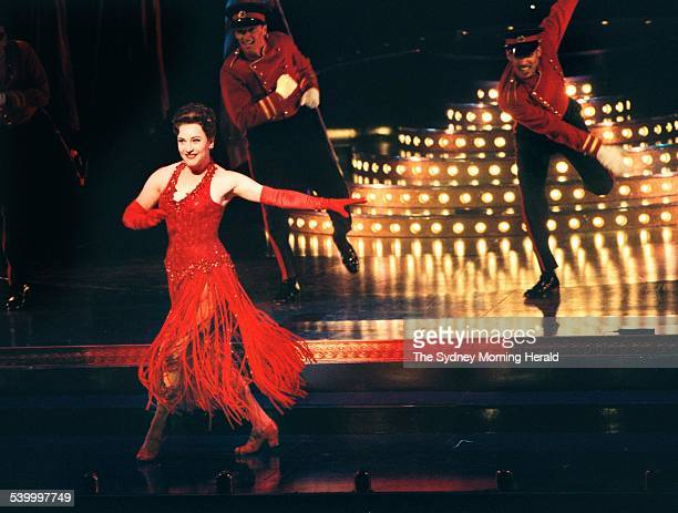 Leonie Page as Ruby Keeler in Jolson the musical at Her Majesty's Theatre 8 February 2000 SMH Picture by NARELLE AUTIO