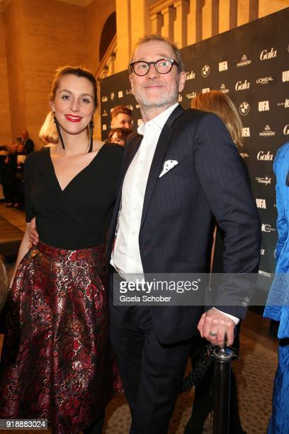 Leonie Seifert and Peter Lohmeyer during the Berlin Opening Night by GALA and UFA Fiction at Das Stue on February 15 2018 in Berlin Germany