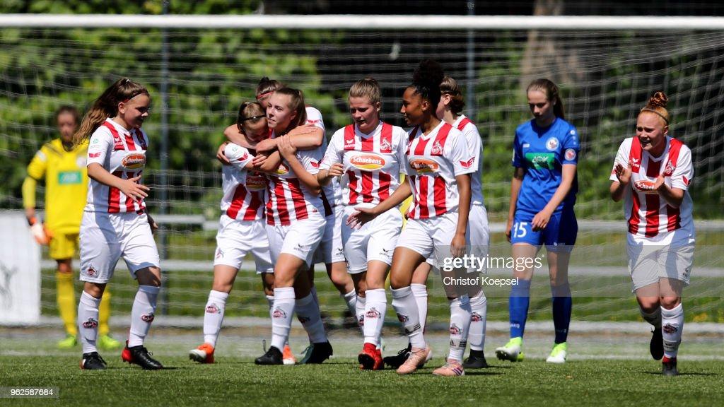 1. FC Koeln U17 Girl's v 1. FFC Turbine Potsdam U17 Girl's - Germany U17 Girl's Championship