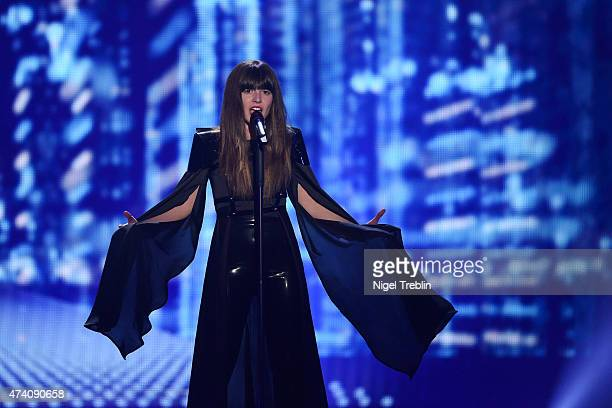 Leonor Andrade of Portugal performs on stage during rehearsals for the second Semi Final of the Eurovision Song Contest 2015 on May 20 2015 in Vienna...