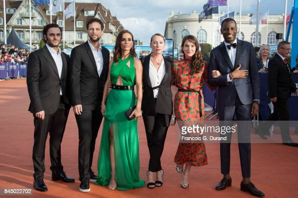 Leonor Varela Anais Demoustier Emmanuelle Bercot Abd Al Malik Pio Marmai and Pierre Rochefort arrive at the closing ceremony of the 43rd Deauville...