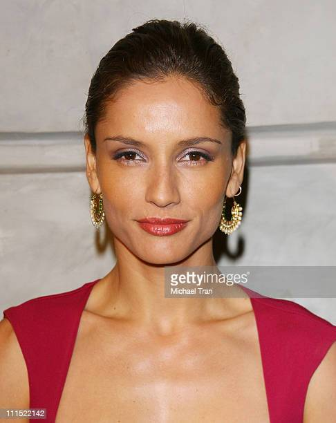 Leonor Varela arrives to the Los Angeles premiere of 'Sleep Dealer' held at The Montalban Theatre on April 15 2009 in Hollywood California