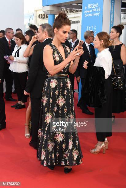 Leonor Varela attends the opening ceremony of the 43rd Deauville American Film Festival on September 1 2017 in Deauville France