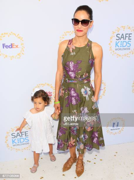 Leonor Varela attends the Safe Kids Day on April 23 2017 in Culver City California