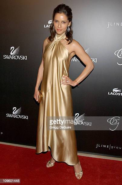 Leonor Varela during 8th Annual Costume Designers Guild Awards Gala Arrivals at Beverly Hilton Hotel in Beverly Hills California United States