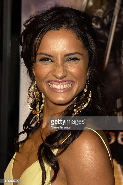 Leonor Varela during 'Blade II' Premiere at Gramun's Chinese Theater in Hollywood California United States