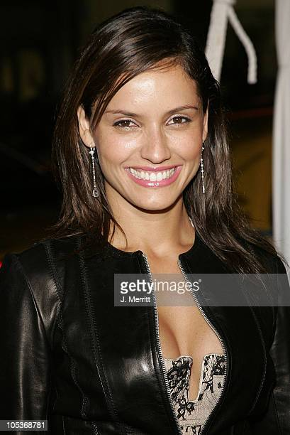 Leonor Varela during 'Blade Trinity' Los Angeles Premiere Arrivals at Grauman's Chinese Theater in Hollywood California United States
