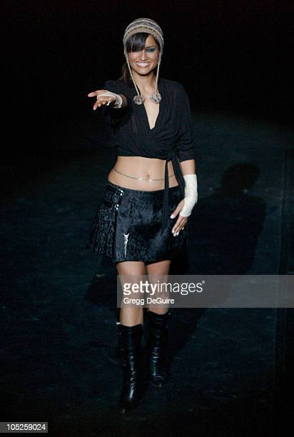 Leonor Varela during Celebrities Bare Legs For Dewar's Dressed To Kilt Charity Event Show at Wiltern Theatre in Los Angeles California United States