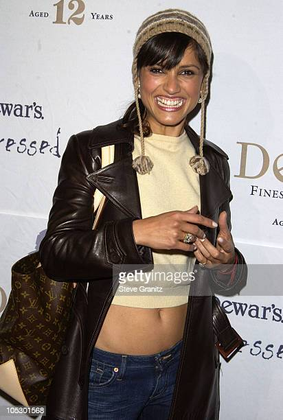 Leonor Varela during Celebrities Bare Legs For Dewar's Dressed To Kilt Charity Event Arrivals at Wiltern Theatre in Los Angeles California United...