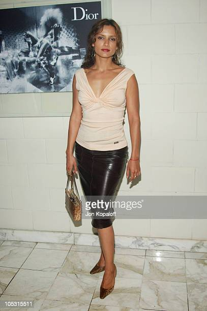 Leonor Varela during Christian Dior Launches New Collection 'D'TRICK' at Argyle Hotel in West Hollywood California United States