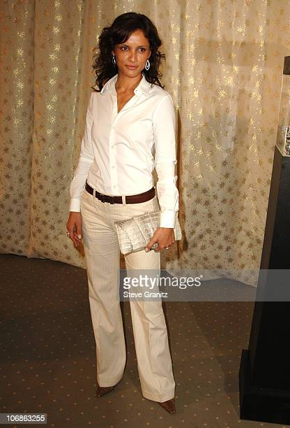 Leonor Varela during Diamond Information Center In Style Magazine Host The 5th Annual Awards Season Diamond Fashion Show Preview at Beverly Hills...
