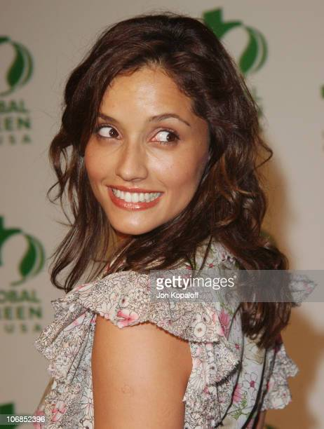 Leonor Varela during Hollywood Stars Join Global Green For Clean Energy Solutions Music At 'Rock The Earth' at Day After Club in Hollywood California...