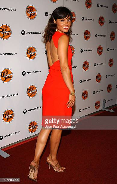Leonor Varela during Russell Simmons and Stan Nathan Host Def Poetry Jam Los Angeles Kick Off For 32 City Tour Arrivals at Wadsworth Theater in...