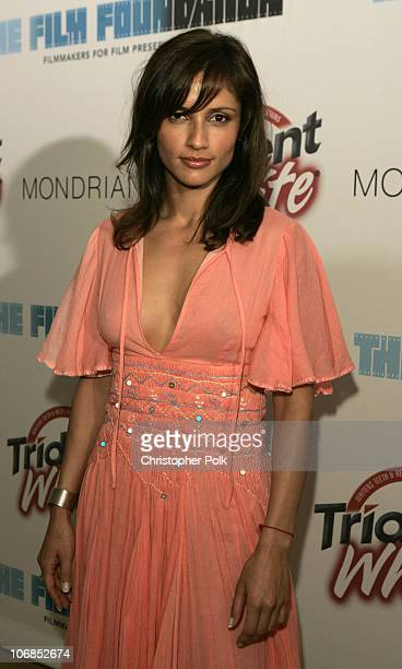 Leonor Varela during Trident White Presents 'Black and White Party' Hosted by McG and Stephanie Savage Benefitting Martin Scorsese's Film Foundation...