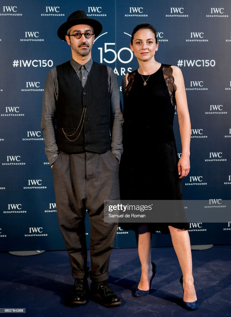 Leonor Watling and Alejandro Pelayo attend 'IWC - Fuera de Serie' 150 Anniversary Party on May 30, 2018 in Madrid, Spain.