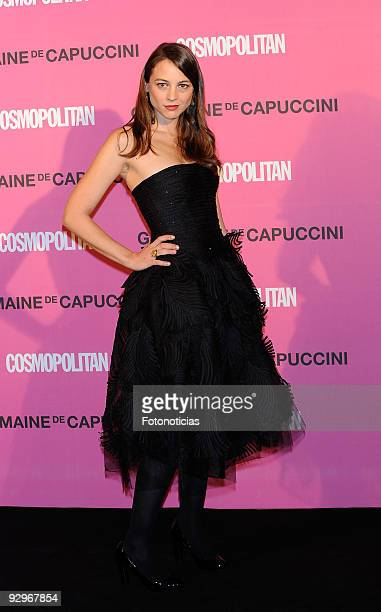 """Leonor Watling arrives to the """"Fun Fearless Female Cosmopolitan Awards 2009"""" ceremony, held at the Ritz Hotel on November 10, 2009 in Madrid, Spain."""
