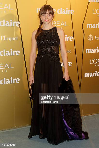 Leonor Watling attends 'Marie Claire Prix de la moda' awards 2013 photocall at Residence of France on November 21 2013 in Madrid Spain
