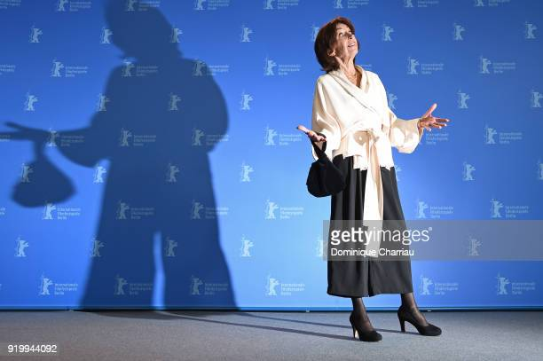 Leonore Ekstrand poses at the 'The Real Estate' photo call during the 68th Berlinale International Film Festival Berlin at Grand Hyatt Hotel on...