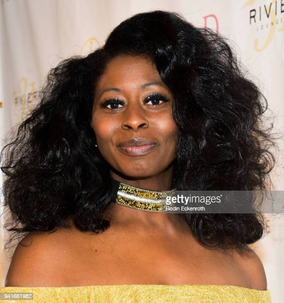Leontine Abdullah attends Regard Magazine Spring 2018 Cover Unveiling Party presented by Sony Studios featuring the cast of 'The Oath' on Crackle at...