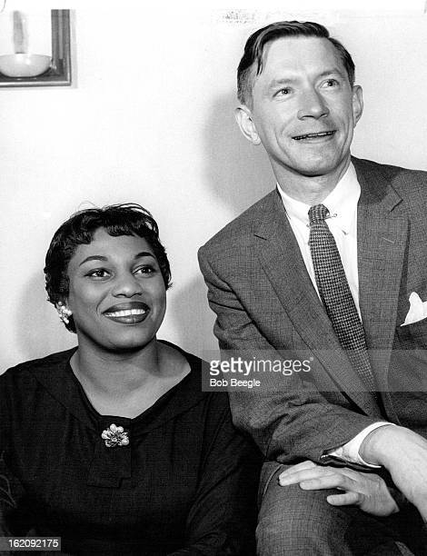 MAY 3 1956 MAY 4 1956 Leontyne Price And David Garvey Noted soprano and her accompanist here for recital