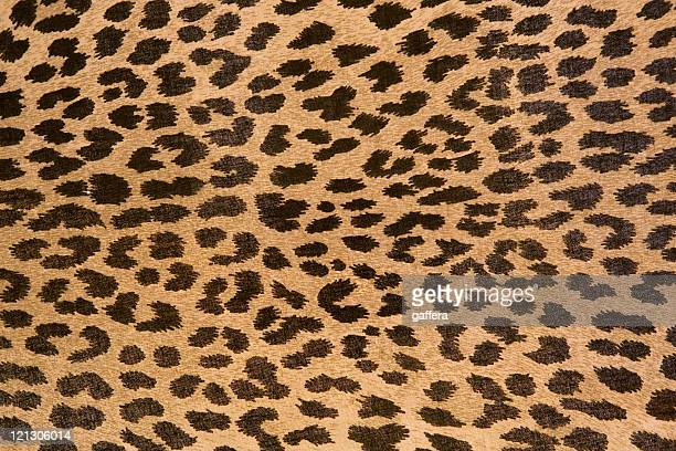 Leopard patterned fabric pattern