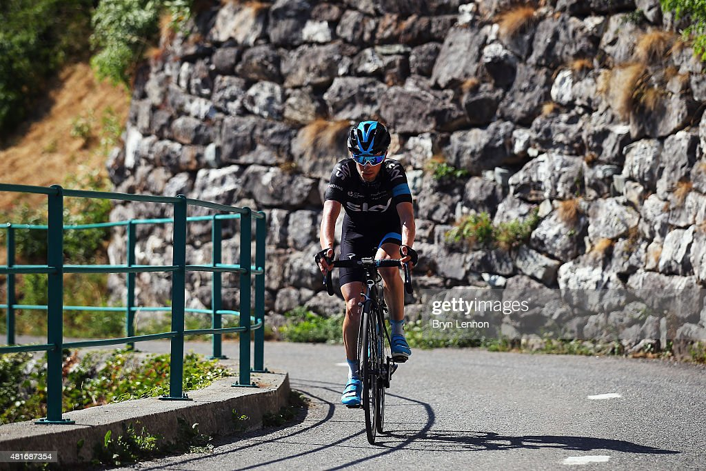 Leoplod Konig of the Czech Republic and Team Sky in action during Stage Eighteen of the 2015 Tour de France, a 186.5km stage between Gap and Saint-Jean-de-Maurienne on July 23, 2015 in Gap, France.