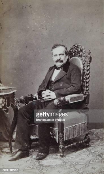 Leopold Freiherr von Neumann 18111888 an Austrian jurist constitutional and international law teacher and 1869 Member of the mansion Photograph by...