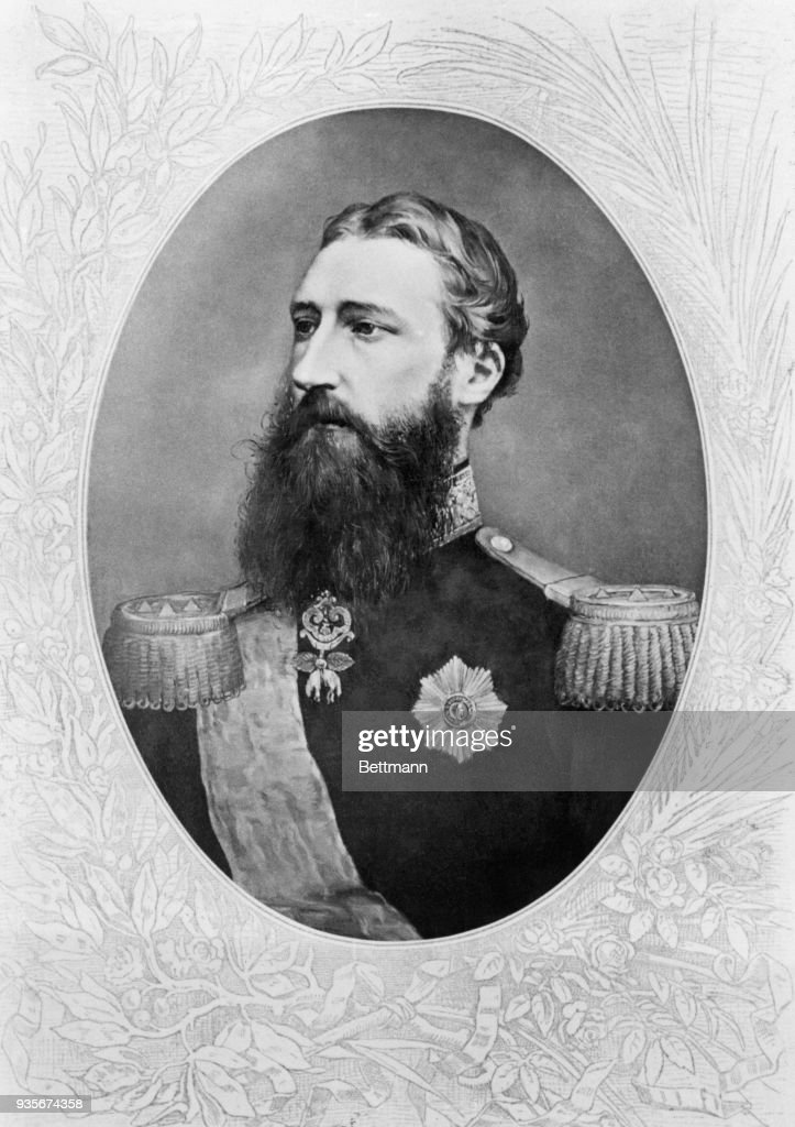 Leopold II, founder of the Belgium Empire on the Congo.