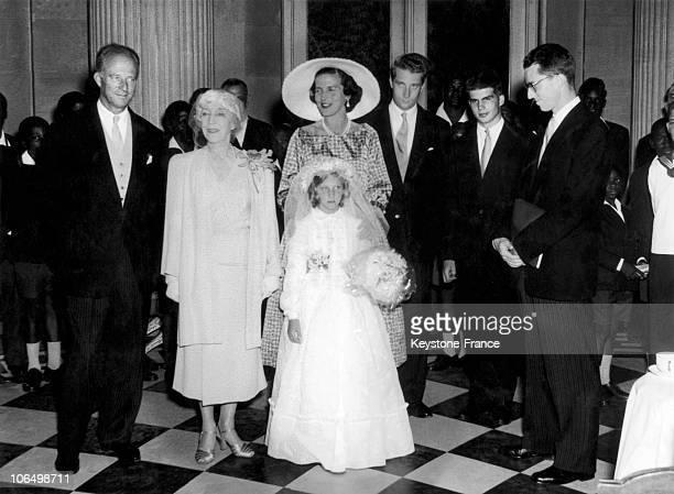 Leopold Iii Of Belgium His Mother Elizabeth Of Bavaria Princess De Rethy Prince Albert Prince Alexander Of Belgium And King Baudouin 1St Around Young...