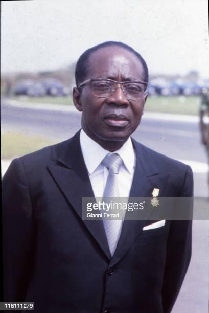 Leopold Sedar Senghor, President of Senegal from 1960 to 1980 Dakar, Senegal.