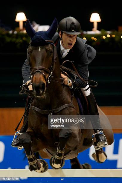 Leopold Van Asten attends during CSI Casas Novas Horse Jumping Competition on December 10 2017 in A Coruna Spain