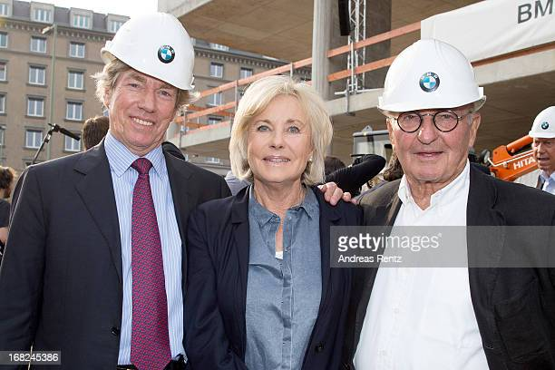 Leopold von Bayern Inge WredeLanz and Peter Lanz attend roofing ceremony at BMW new Berlin location at BMW Niederlassung Berlin on May 7 2013 in...