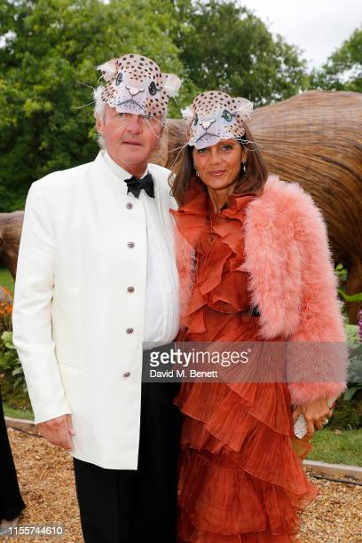 Leopold von Bismarck and Debbie von Bismarck attend The Animal Ball presented by Elephant Family at Lancaster House on June 13 2019 in London England