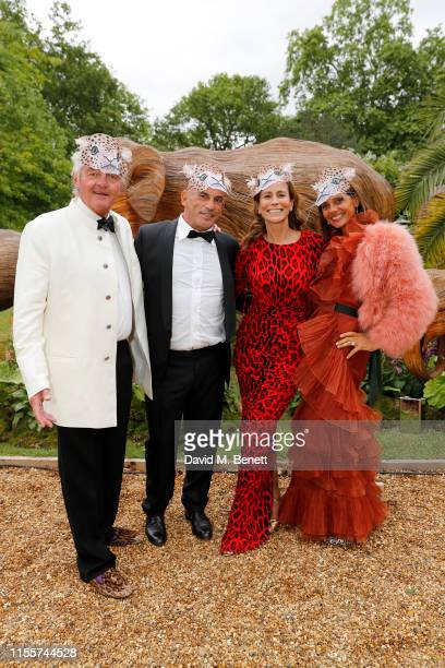 Leopold von Bismarck Guy Dellal Andrea Dellal and Debbie von Bismarck attend The Animal Ball presented by Elephant Family at Lancaster House on June...