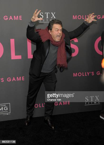 Leopoldo Gout attends Molly's Game New York premiere at AMC Loews Lincoln Square on December 13 2017 in New York City