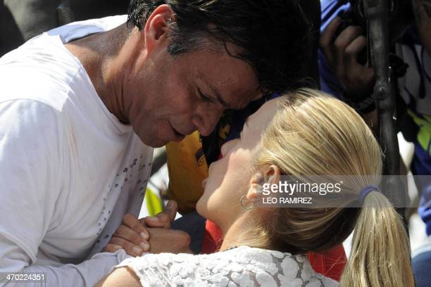 Leopoldo Lopez an ardent opponent of Venezuela's socialist government facing an arrest warrant after President Nicolas Maduro ordered his arrest on...