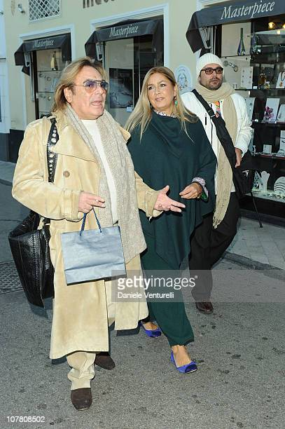 Leopoldo Mastelloni Romina Power and Yari Carrisi attend the third day of the 15th Annual Capri Hollywood International Film Festival on December 29...